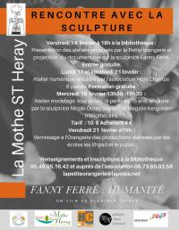 Exposition des oeuvres issues des ateliers